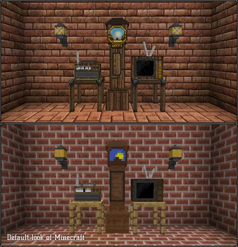 Minecraft Jammy Furniture Mod by Johnsmith Inspired Textures For Minecraft Mods Part 3 On