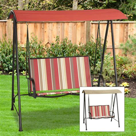 replacement sling for patio swing replacement canopy for 2 person sling swing garden winds