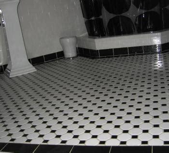 deco bathroom floor tiles