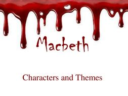 themes of commitment in macbeth macbeth revision of characters and themes with quotes