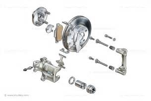 Disc Brake System Parts Stock Images Of Car Engines Components Suspensions