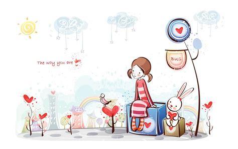 anime lucu gambar ilustrasi kartun lucu 15 lu kecil