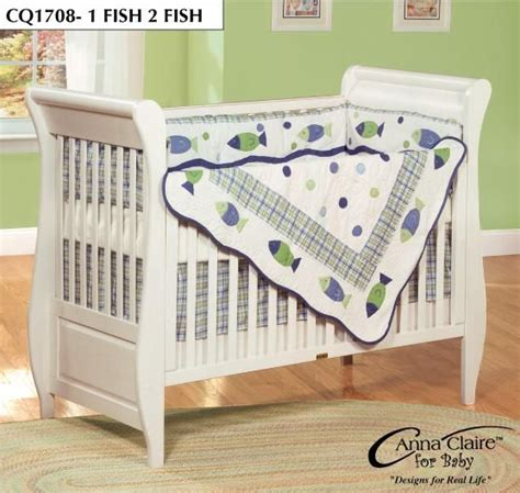 Fishing Crib Bedding Sets 1 Fish 2 Fish By Designs Grayson