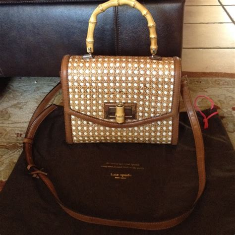 Kate Spades Wicker Clutches And Satchels by 20 Kate Spade Handbags Kate Spade Laguna Court
