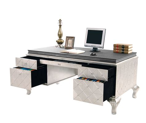incept pedestal desk by aico desks michael amini