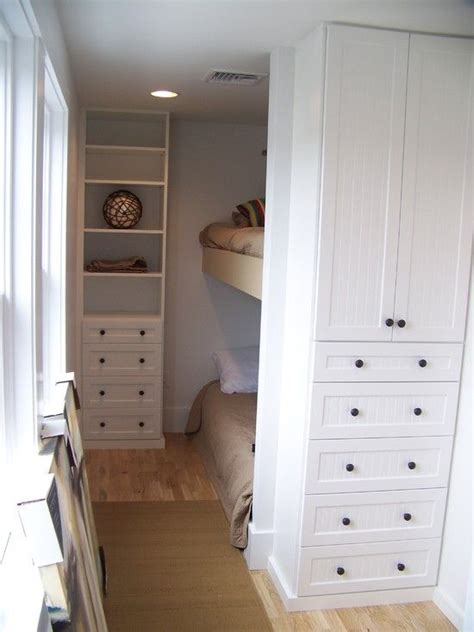 Narrow Width Bunk Beds Turn Cupboard And Drawers Into Bed Nooks Storage For Clothing To Connect With Us And Our