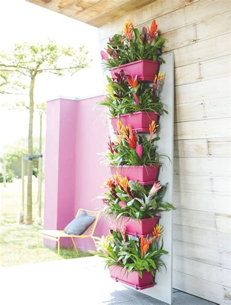 self watering planters vertical garden balcony decorations mini patio and balcony planter ideas
