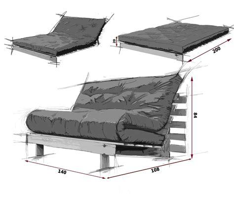 divani letto futon divano letto futon roots zen vivere zen