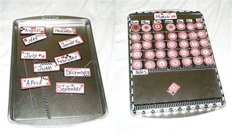how to make a magnetic perpetual calendar make a magnetic perpetual calendar 187 dollar store crafts