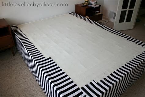 diy bed skirt sewing for life tutorial easy diy bed skirt