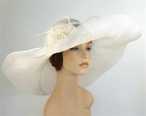 Dress With Hat Val 10 new church kentucky derby wedding sinamay wide brim dress hat 10 290 white kentucky derby