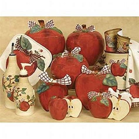 apple home decor accessories 15 must see apple kitchen decor pins apple decorations