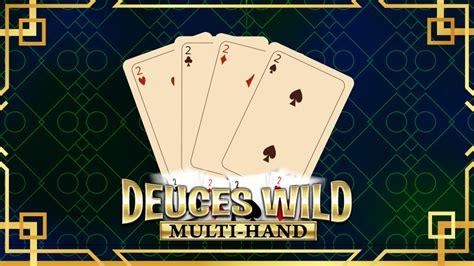 multi hand deuces wild  casino video poker game