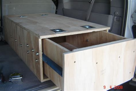 4wd Drawer Systems Diy by Gu Drawers And 3rd Row Seats Australian 4wd Forum