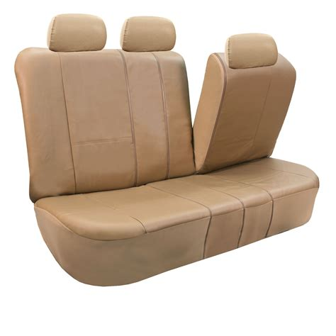 leather bench seat covers pu leather auto seat covers full set air bag safe split