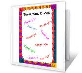printable christmas card record book thank you cards print free at blue mountain