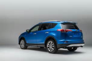 Toyota Electric Car Cost 2016 Toyota Rav4 Hybrid Brings Higher Mileage Refreshed