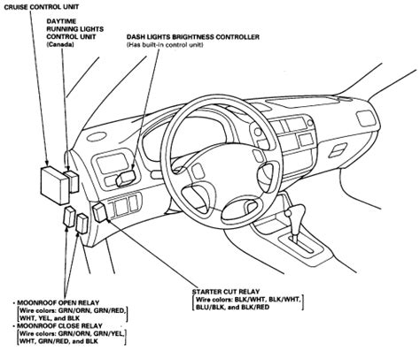 honda odyssey starter relay location get free image