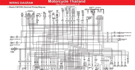 honda crf250l wiring diagram en pdf drive