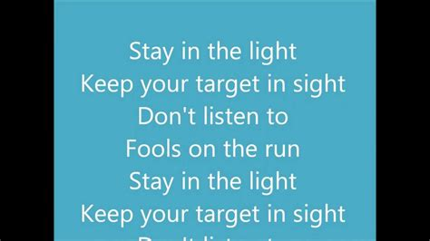 Stay In The Light by Stay In The Light By Honeymoon Suite Lyrics Hd