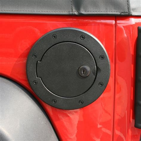 Jeep Wrangler Gas Cap Cover All Things Jeep Fuel Cover Locking For Jeep Wrangler Jk