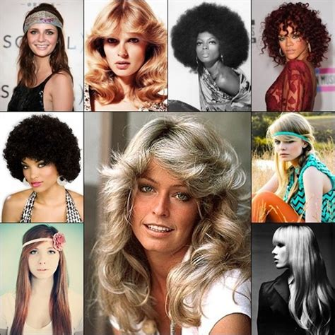 back to the 70s hairstyles years to years hairstyle trends that are still high