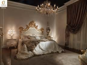 Royal Bedroom Bedroom In Solid Wood In Classic Style Idfdesign
