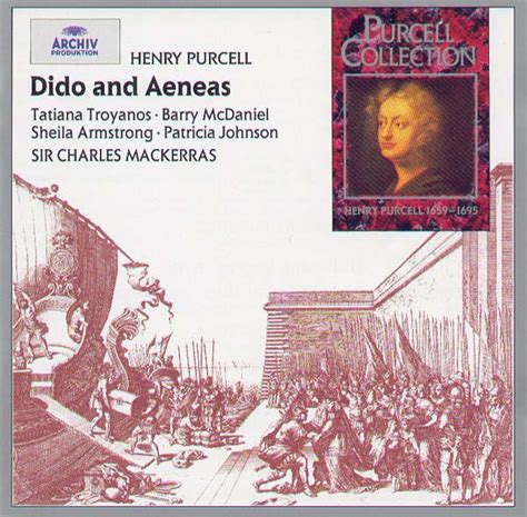 henry purcell s dido and aeneas books tatiana troyanos