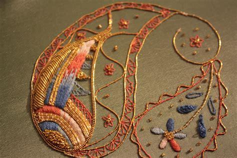 robert tambour beading embroidery on behance