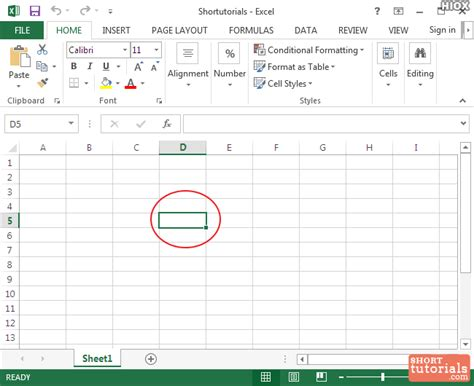 excel cell layout cell1 in ms excel 2013