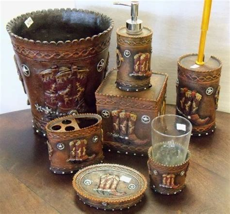 Western Bathroom Accessories Cowboy Decor Car Interior Design