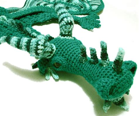 knitting pattern dragon scarf you have to see green dragon scarf by myntkat