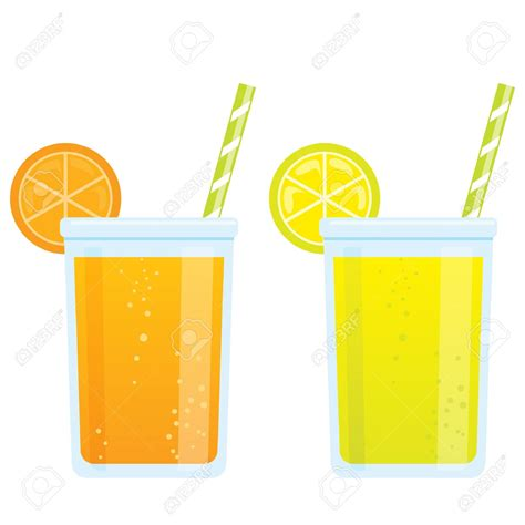 cartoon cocktail beverage clipart cold juice pencil and in color beverage