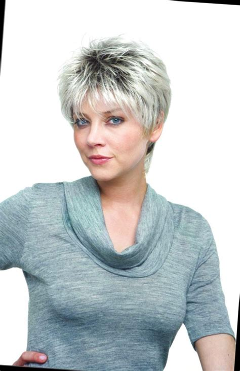 Idee Coupe Femme by Coiffure Courte Cheveux Gris Femme