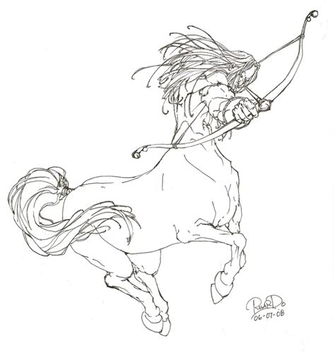centaur girl coloring page centaur coloring pages coloring pages