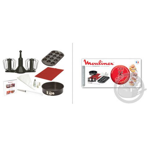 kit  patisserie robot companion moulinex xf coin