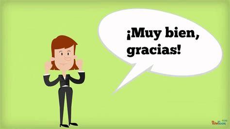 youtube imagenes saludos en ingles saludos en espa 241 ol youtube