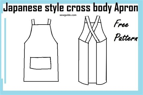 pattern sourcebook japanese style pdf make easy japanese style cross back apron free diy