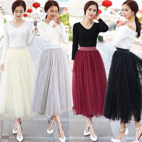 Best Seller Pleated Skirt 692 Rok Midi Rok Kerja 2015 knee length white tulle tutu skirts for adults custom