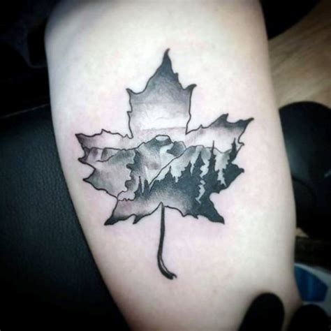 maple leaf tattoo 60 leaf designs for the delicate stages of