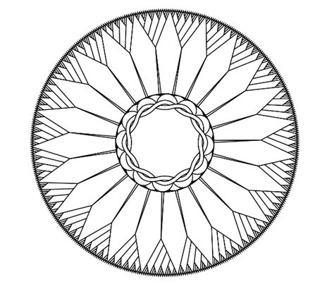 how to make your own mandala coloring pages for free