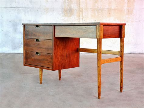 mid century select modern mid century modern desk or vanity table