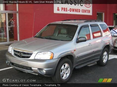 mazda tribute 2002 interior satin silver metallic 2002 mazda tribute es v6 gray