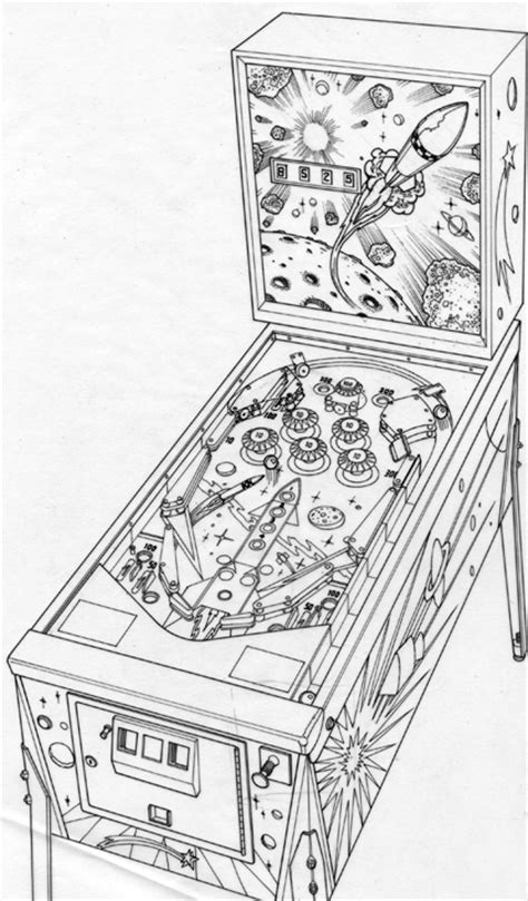 pinball machine artwork  behance