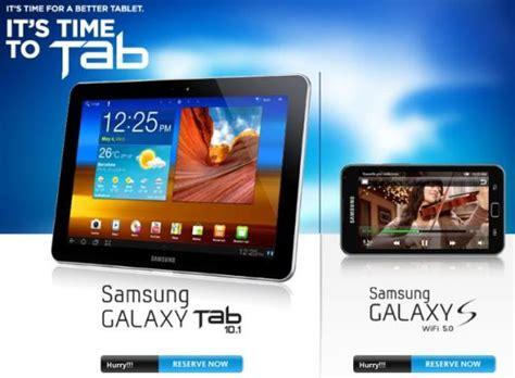 Samsung Tab S Wifi 5 0 samsung galaxy tab 10 1 and samsung galaxy s wifi 5 0 pre