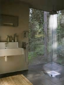 open shower design indoor outdoor shower room by roji all about home decor