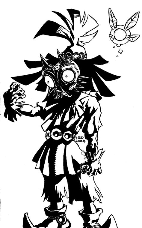 Gribouillis - The Legend of Zelda Majora's Mask - Blog de
