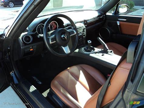 mazda roadster interior saddle brown interior 2008 mazda mx 5 miata grand touring