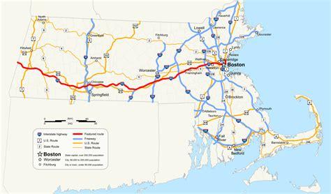 us toll roads map massachusetts turnpike