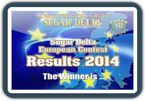 contest 2014 results sugar delta european contest 2014 results sugar delta